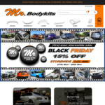 Black Friday Sale 15% off Storewide @ Mr Bodykits