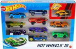 Hot Wheels 10pk $10 + Delivery ($0 with Prime/ $39 Spend) @ Amazon AU