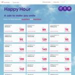 Virgin Aus Happy 7 Hour Sale: MEL-Launceston $75, MEL-Newcastle $79, Syd-Bris $89 and More One-Way @ Virgin Australia