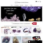 50% off All Stones & Crystals + Free Delivery @ Unique Crystals & Stones