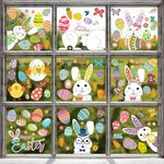 Hianjoo Easter Window Stickers Indoor Decoration 20% off $7.99 (Was $9.99) + Delivery ($0 with Prime/ $39 Spend) @ Amazon AU