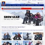 Ski Jackets $59.99, Ski Pants $49.99 + More Skiing Clothing & Accessories @ ALDI