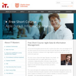 Free University Short Course: Agile Data & Information Management @ IT Masters