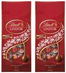 [eBay Plus] 2x395g Lindt Lindor Milk Chocolate Packs or 2x395g Lindt Lindor Assorted Chocolate $15 Shipped @ KG Electronic eBay