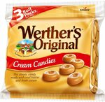 Werther's Original Cream Candies Rolls 3 Pack 150g $2 ($1.80 S&S) + Delivery ($0 with Prime/ $39 Spend) @ Amazon AU