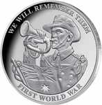 'We Will Remember Them' Silver-Plated Commemorative Medallion $0 + $4.99 Shipping @ Downies