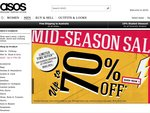 ASOS 25% off for 25 Hours