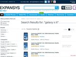 Samsung Galaxy S III (i9300) Blue or White 16GB Unlocked - $718.37 ($25 Postage) - Expansys