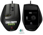 Logitech G9X Gaming Mouse COD Edition $49.95, G105 Gaming Keyboard $29.95