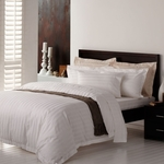 80% off Adairs 300TC White Quilt Cover Set - Queen Bed