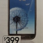 Samsung Galaxy S3 4G Unlocked Smartphone $399 @ Kmart (Starts Thursday 12th Dec)