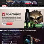 Marvel Unlimited 1 Month Subscription 99c for First Month for Access to 15,000 Comic Books
