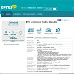 Price Drop for Optus Unlimited Cable Broadband - $90 from $115/Month