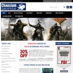 30% off from Chaosium Online Store on eBooks and PDFs - Roleplaying Source Books etc