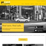 FREE $25 off Your First Taxi Ride @ goCatch