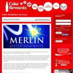 Merlin Entertainment Attractions Entry Tickets Only 100 Tokens @ Coke Rewards