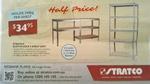 Stratco Slot-N-Lock 5 Shelf Unit 200kg/Shelf $34.95 @ Stratco [Redbank Plains, QLD]