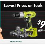 Ryobi One+ 18V Drill Kit $99 @ Bunnings