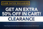 50% off in Cart @ CatchOfTheDay (Club Catch Membership Required)