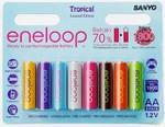 Sanyo Eneloop AA Tropical 8 Pack $22.95 Free Shipping @ GadgetBox