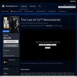 $22.95 The Last of US PS4 PSNAUS