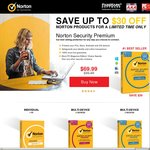 Norton Products 50% Cashback Via Cashrewards eg. Antivirus Basic ~ $15. (Ends Sunday)