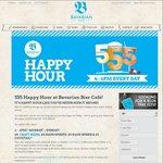 $5 Craft Beers, $5 Haus Spririts, $5 Haus Wines & $5 Cocktails, 4 – 6PM @ Bavarian Bier Cafe (Brisbane/Sydney/Gold Coast)