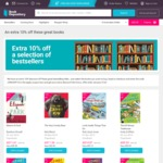 10% off Selected Best Sellers at Book Depository