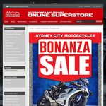 NSW Sydney City Motorcycles 10-15% off Helmets & Gear eg Shoei NXR $790, A* SMX6 Boots $280, GP Plus Jacket $450