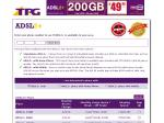 TPG ADSL2+ Plans Upgraded $49.99 200GB (100+100GB) - Shaped to 1Mbps uploads counted