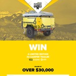 Win a 2017 Patriot Campers X2 Camper Trailer Worth $35,272 or 1 of 20 Runner-up Prize Packs