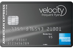 AmEx Velocity Platinum Card - $375 Annual Fee - 50,000 Velocity Points + Domestic Return Flight
