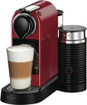 Nespresso Breville Red Citiz & Milk $158 (after $40 Cashback) + $60 Nespresso Coffee Credit (C&C) @ The Good Guys