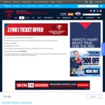 2 for 1 Tickets AFL Melb Demons V Bris Lions @ MCG Sun 20/8/17- $25 for 2 Tickets