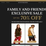 Scotch & Soda Family and Friends Online Sale - up to 70% off