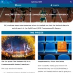 Win The Ultimate GC2018 Commonwealth Games Experience Worth $4,900 or 1 of 70 Hot Seats from GC 2018 Commonwealth Games Corp