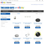 Google Home Mini $63.2, Netgear Orbi Whole Home Wifi System $310.40, Chromecast Audio $46.40 @ The Good Guys eBay