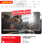 Liquorland Free on Demand Delivery Today Only (Certain Postcodes in VIC)