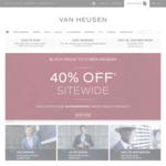 40% off Sitewide @ Van Heusen