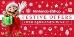 Nintendo eShop Festive Offers (Switch, 3DS, Wii U)