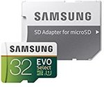 Samsung EVO Select w/ Adapter 32GB US$15.52 (~AU$20.15), 64GB US$25 (~AU$32.46), 128GB US$42.10 (~AU$54.65) Delivered @ Amazon