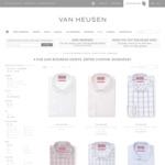 Van Heusen - 4 Business Shirts for $100 Delivered