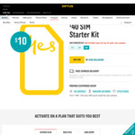 $40 SIM Starter Kit for $10 Delivered - Optus