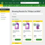 ½ Price Philips LED Globes | 806 Lumen $5.00 | 1400 Lumen $7.50 | @ Woolworths