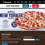 Buy 1 Premium or Traditional Pizza, Get 1 Traditional or Value Pizza Free @ Domino's