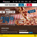 Traditional Pizzas for $7.95 and $2.95 Extra for Premium Pizzas (Pickup) @ Domino's
