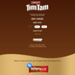 Win a Share of 276 Prizes of a Year's Supply of Tim Tam +/- 1 of 3 Wishes Worth $100,000 from Arnott's [Purchase Tim Tam]