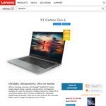 "Lenovo X1 Carbon G6 / 14"" FHD / i5-8250U / 128GB SSD / 8GB RAM / $1777 Shipped ($1627 with AmEx Offer)"