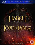 The Lord of The Rings & The Hobbit Trilogies – Six Film Collection Extended Edition Blu-Ray £39.99  (~AU$65) @ Amazon UK