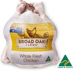 Broad Oak Fresh Whole Chicken $3.00/kg (Was $3.79), Jindurra Station Rump Steak Bulk $10.00/kg (Was $13.99) @ ALDI